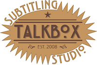 Talk Box Subtitling Studio